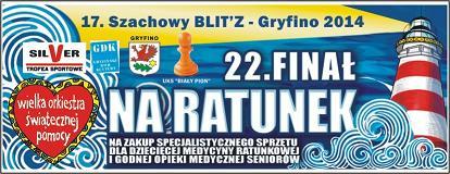 WOŚP 2014 17. Szachowy BLIT'Z  Wyniki